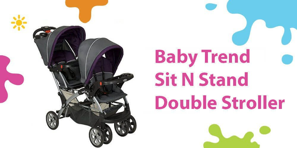 Baby Trend Double Review (Super Flexible Sit N Stand Car Seats Ready)
