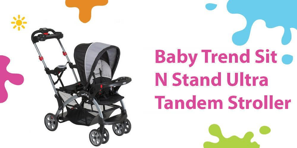 Baby Trend Tandem Review (Awesome Flexible Sit N Stand Ultra Stroller)
