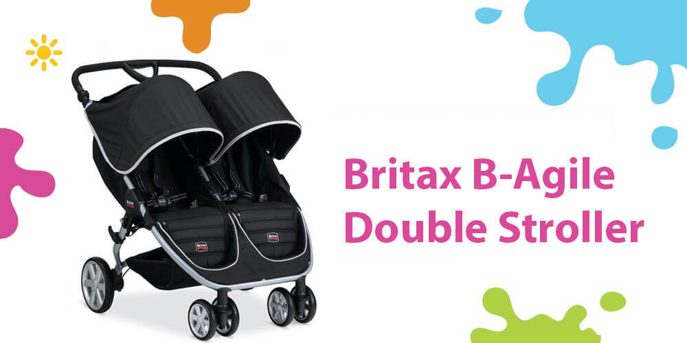 Britax B Agile Double Review (A Family Favorite Lightweight Stroller)