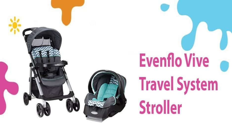 Evenflo Vive Travel System Review (Amazing StandFold Comfort Stroller)