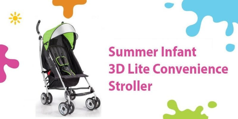 Summer Infant 3D Lite Review (One of the Best Convenience Strollers)