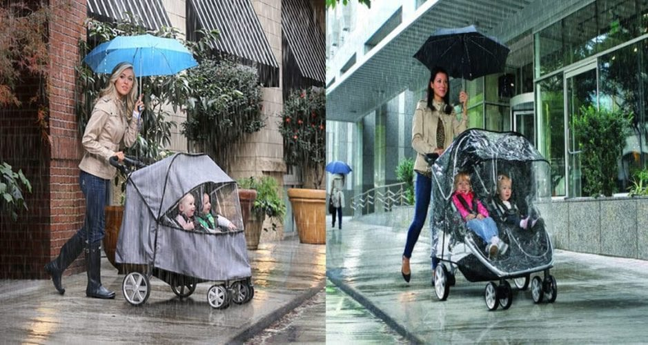 How to Cover Stroller in Rain