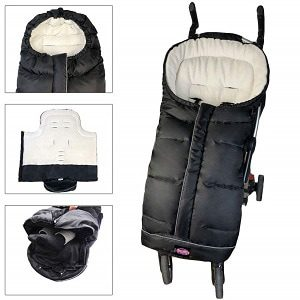 Funlife Weather-Proof Stroller Bunting Bag