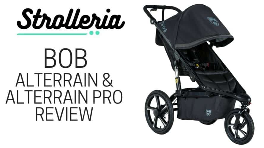 BOB Alterrain and Alterrain Pro Stroller Review
