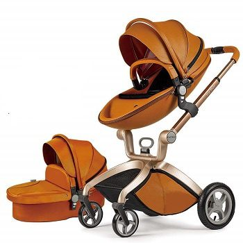 Hot Mom Baby Carriage with Bassinet Combo