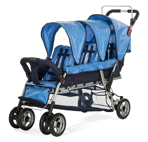 Triple Stroller Weight & Dimensions