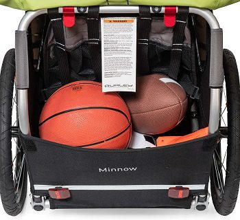 Baby Bike Trailer - Storage